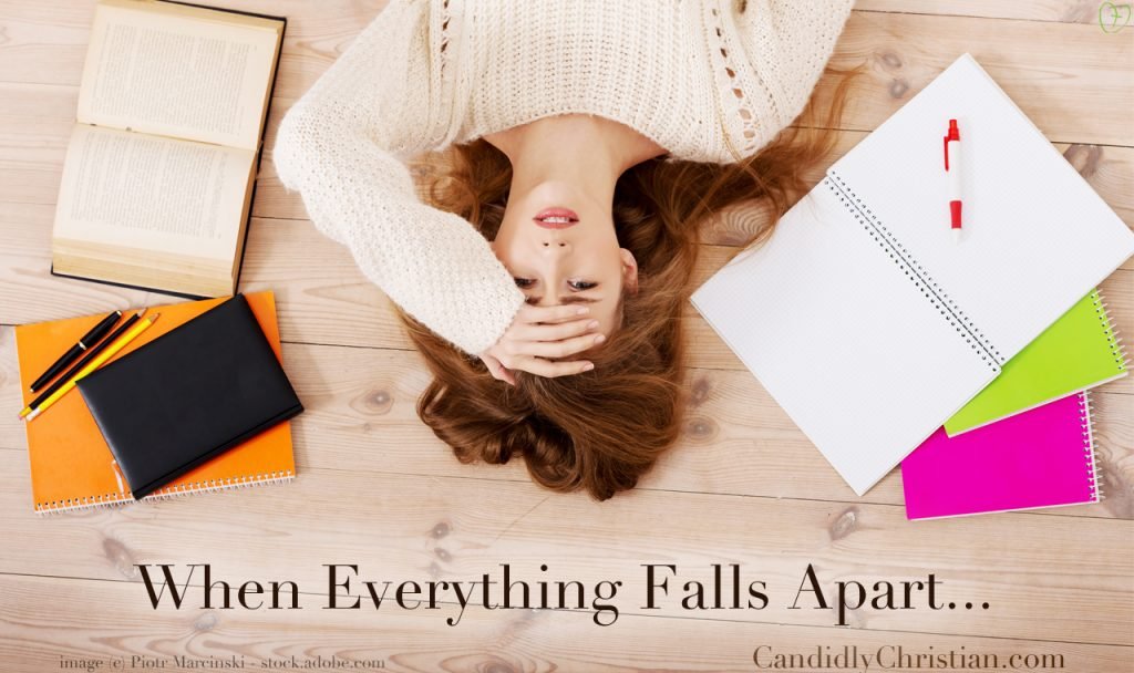 How to Trust in Jesus When Everything is Falling Apart