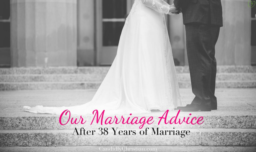 I'm No Marriage Counselor (But I'm Celebrating 38 Years of Marriage)