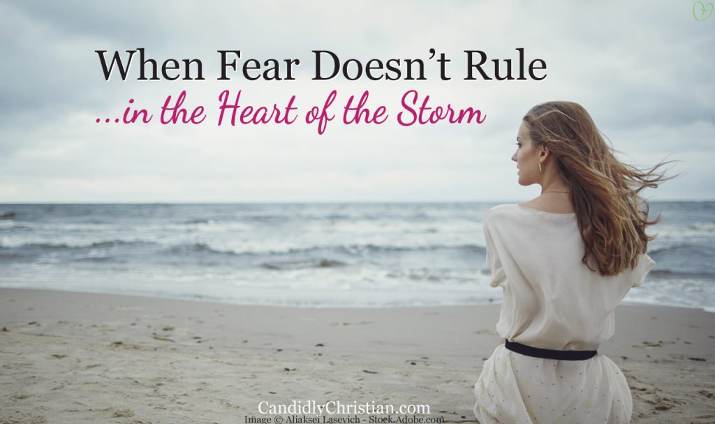 When Fear Doesn't Rule in the Heart of the Storm