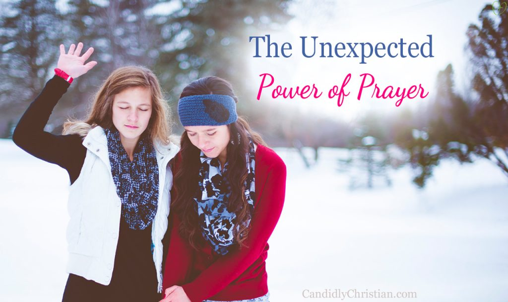 The Unexpected Power of Prayer (& my bitter heart)