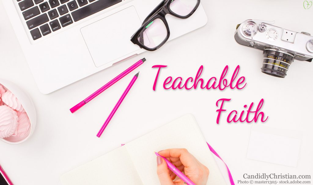 I Want To Be Teachable