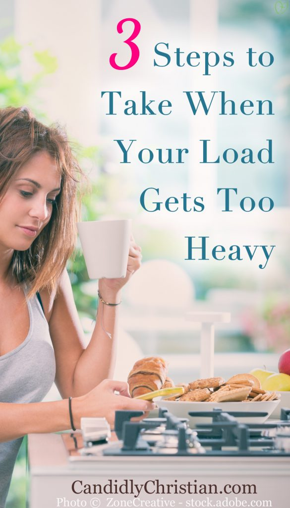 3 Steps to Take When Your Load Gets Too Heavy