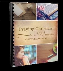 Praying Christian Women Scripture Journal