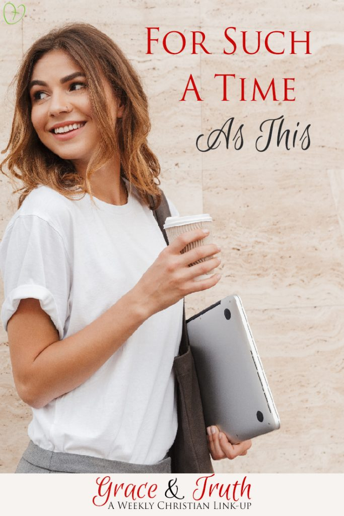 For such a time as this... Christian blog post about Esther and why we were created for such a time as this. #christianblog