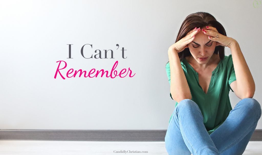 3 Things To Remember When You Are Faced With Memory Loss