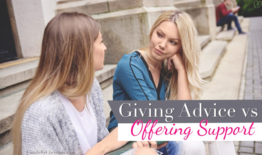 Giving Advice & Offering Support -> What You Need To Know