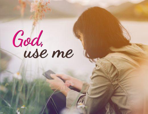 God use me