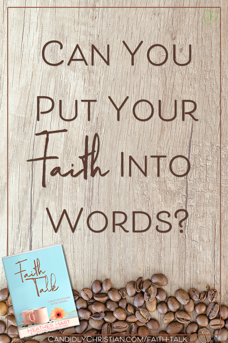 Can you put your faith into words?