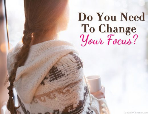 Do you need to change your focus?