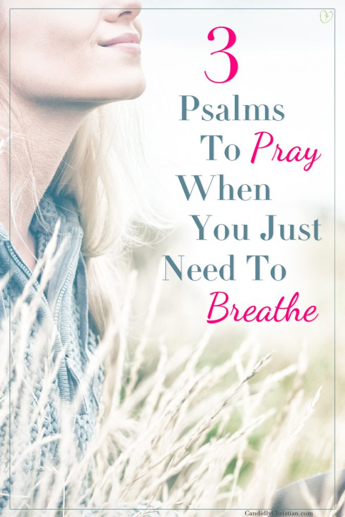 3 Psalms to pray when you just need to breathe