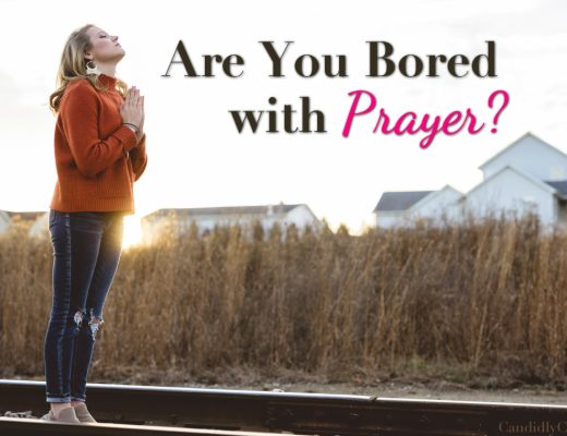 Bored with Prayer