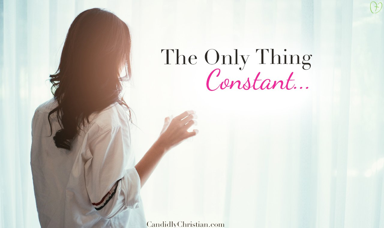 The Only Thing Constant… – A Candid Moment