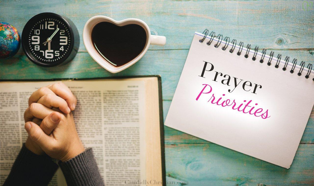 Prayer Priorities