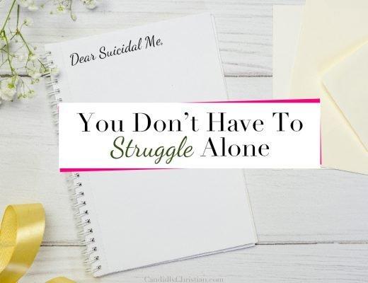 Dear Suicidal Me