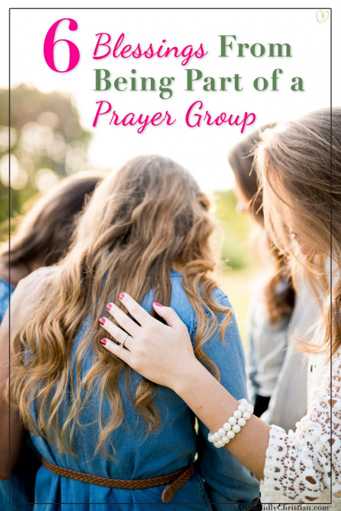 6 blessings from being part of a prayer group.
