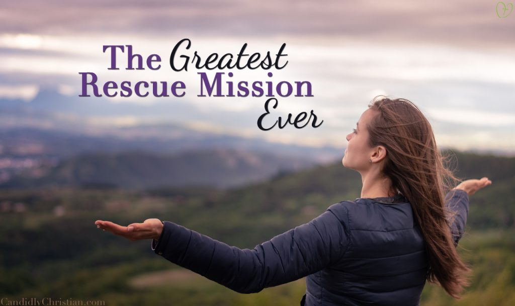 The Greatest Rescue Mission Ever: A Candid Moment