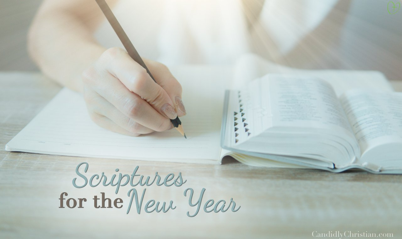 8 Scriptures for the New Year