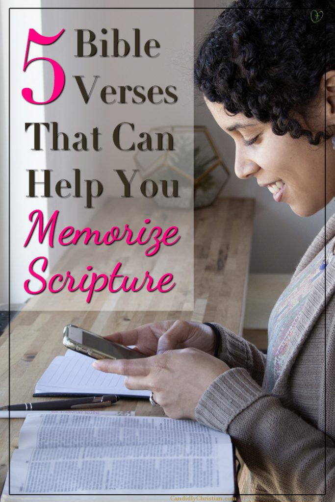 5 Bible Verses that can help you memorize Scripture (even if you're memory impaired)