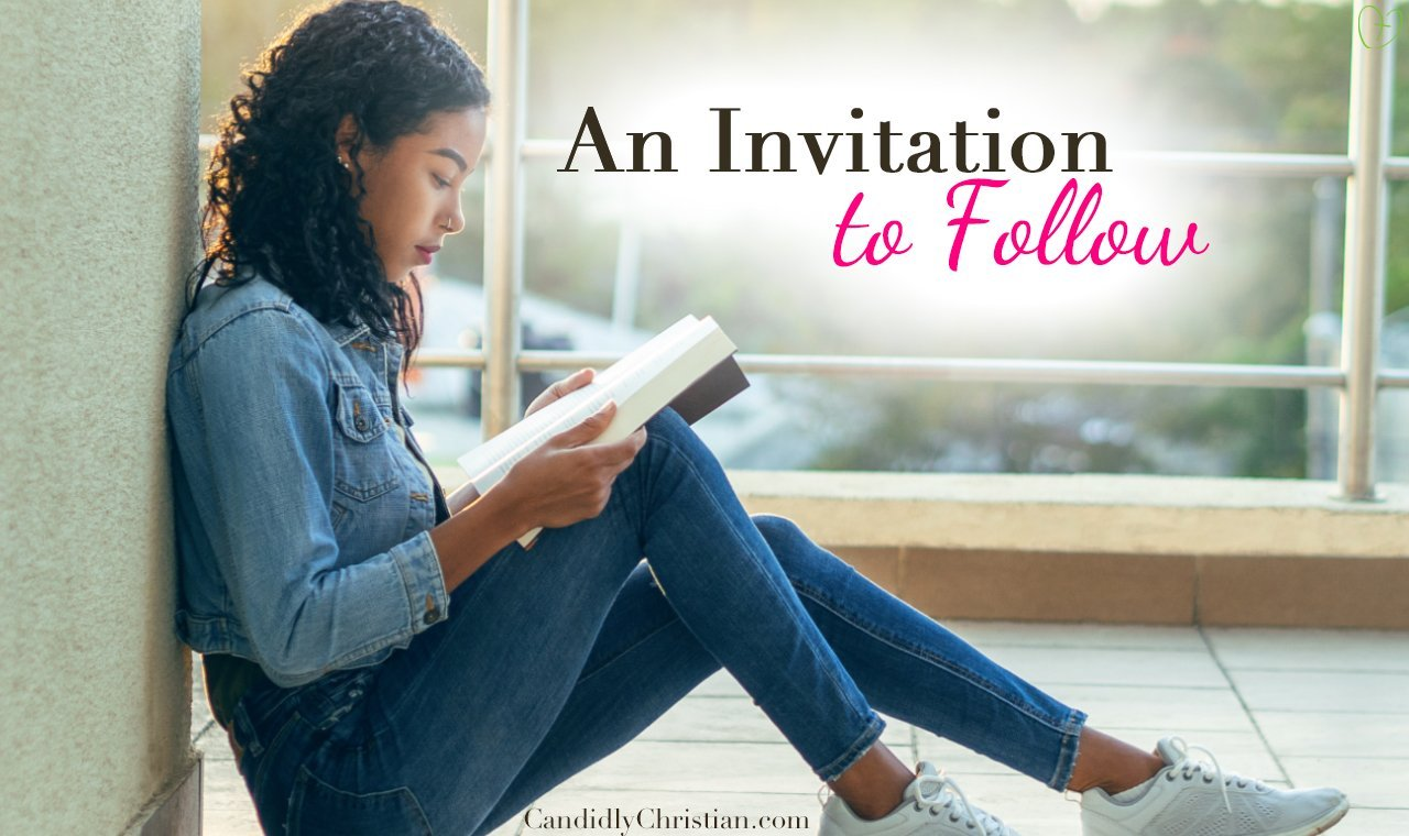 An invitation to follow Jesus