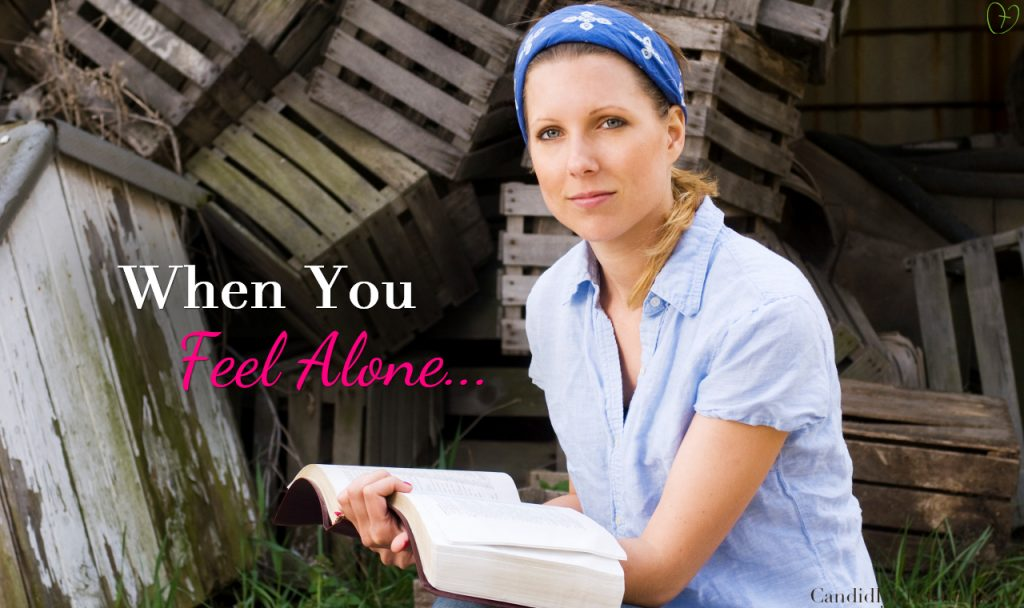 5 Bible Verses for When You Feel Alone