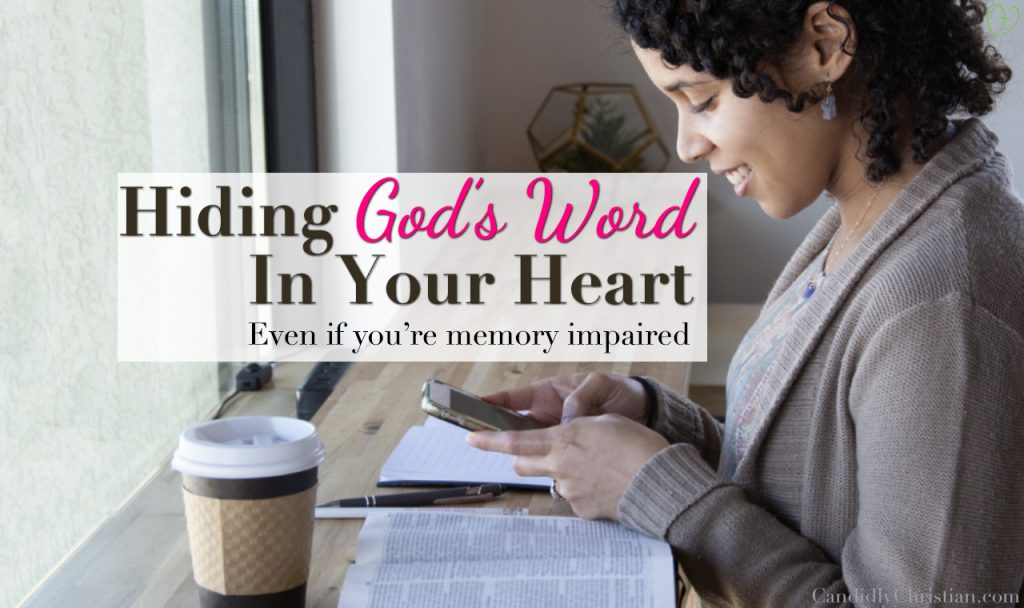 5 Bible Verses to Help You Memorize Scripture (for the memory impaired)