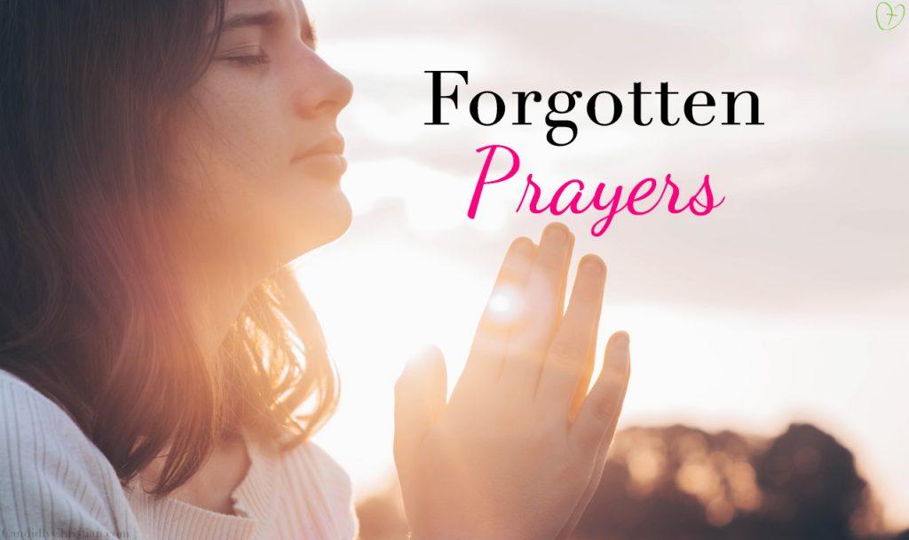Forgotten Prayers