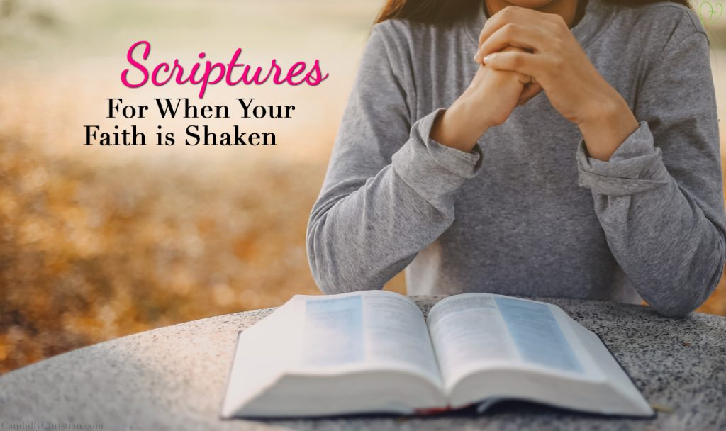 Scripture for When Your Faith is Shaken