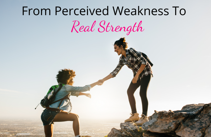 From Perceived weakness to real strength